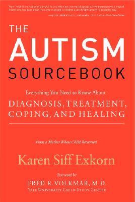 The Autism Sourcebook By Exkorn, Karen Siff/ Volkmar, Fred R. (FRW)